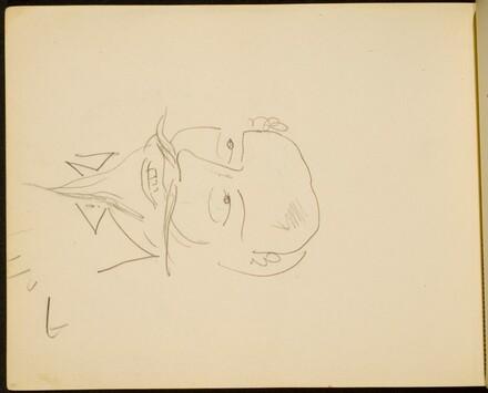 Lächelnder Mann mit Spitzbart (Man with Pointed Beard, Smiling) [p. 70]
