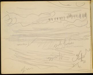 Meereslandschaft, Farbangaben (Seascape with Notations) [p. 108]