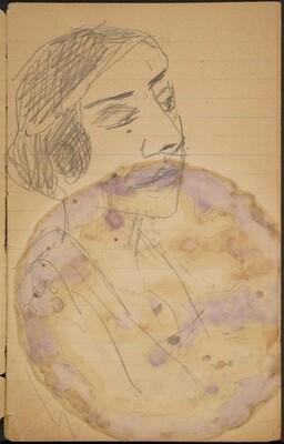 Weibliche Bildnistudie (Female Portrait) [p. 3]