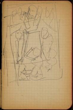 Mehrfigurige Kompositionsskizze (Figural Composition) [p. 9]