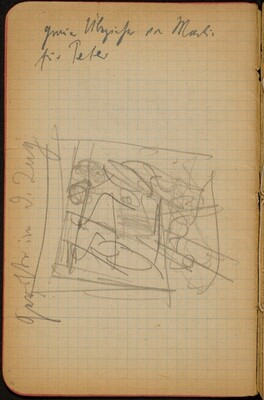 Skizze mit Bezeichnung (Sketch with Inscription) [p. 16]