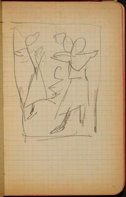 Mehrfigurige Kompositionsskizze (Figural Composition) [p. 41]