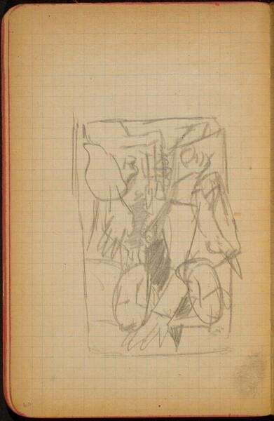 Mehrfigurige Kompositionsskizze (Figural Composition) [p. 60]