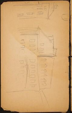 Architekturstudie (Architectural Study) [p. 12]