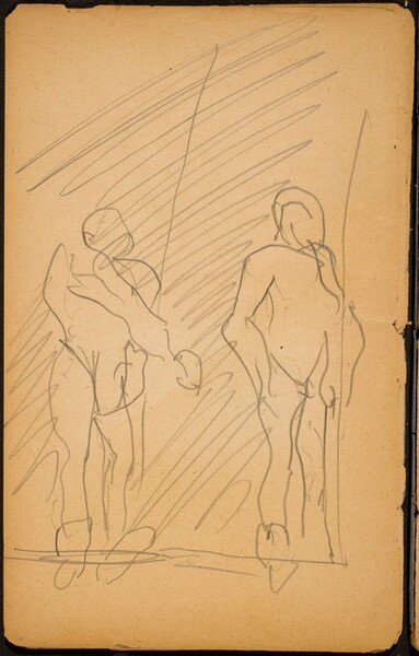 Zwei Figuren auf dem Trapez (Two Figures on a Trapeze) [p. 16]