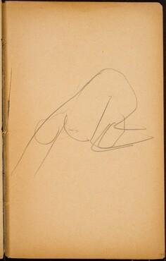 begonnene Studie (Intial Sketch) [p. 51]