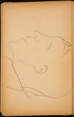 Männliches Profil (Male Profile) [p. 60]