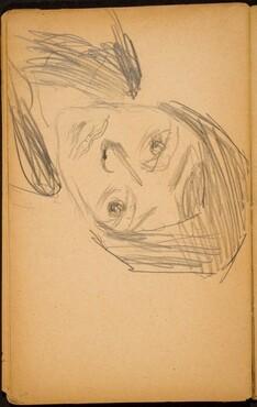Weibliche Bildnisstudie (Female Portrait Study) [p. 66]
