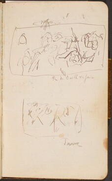Zwei Skizzen (Two Sketches) [p. 26]