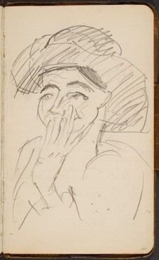Frau mit Hut (Woman with a Hat) [p. 104]