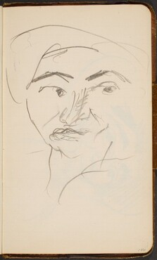 Weibliches Gesicht (Woman's Face) [p. 106]