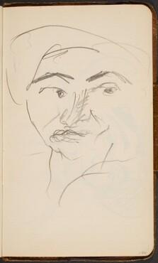 Weibliches Gesicht (Woman's Face) [p. 106]