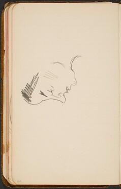 Frauenkopf im Profil (Woman's Profile) [p. 109]