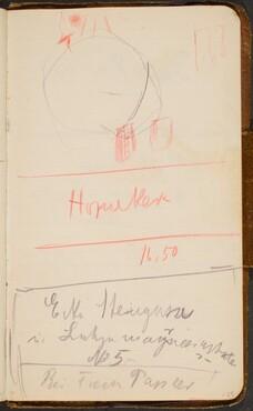 Skizze und Notizen (Sketch with Notation) [p. 128]