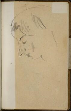 Weibliches Gesicht im Profil (Profile of a Woman) [p. 1]