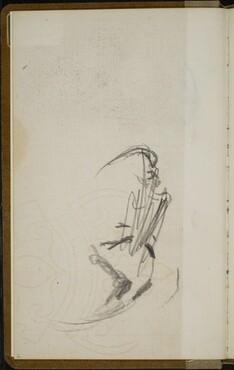 Verworfenes weibliches Gesicht (Sketch of a Woman's Face) [p. 2]