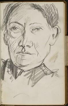 Portrait Sabine Hackenschmidt (Portrait of Sabine Hackenschmidt) [p. 11]