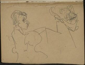 Drei Figuren (Three Figure Sketch) [p. 17]
