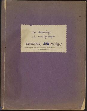 Beckmann Sketchbook 31
