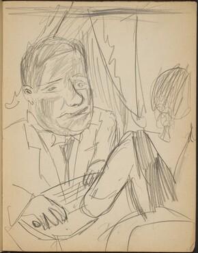 Paar, Mann mit Zither (Couple, Man Plays a Zithar) Conversing [p. 9]