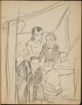 Interieur mit sechs Figuren (Interior with Six Figures) [p. 11]