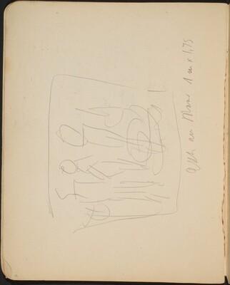 Figuren am Meer, Bezeichnung (Figures at the Sea, Inscriptions) [p. 38]