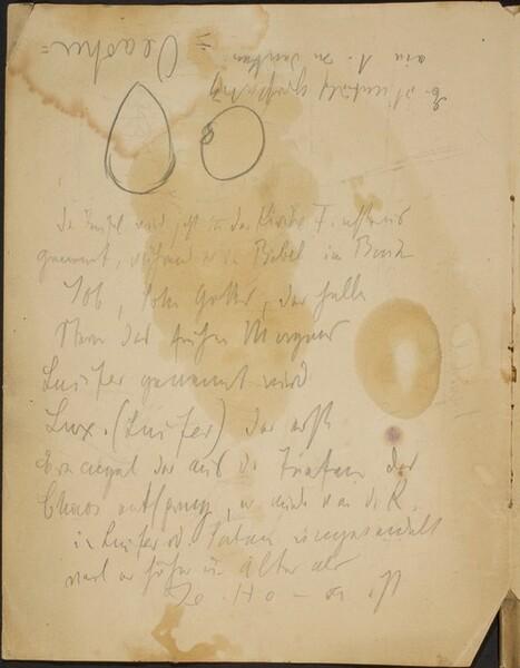 Notizen und zwei Kreisformen (Notations with Two Circles) [p. 2]