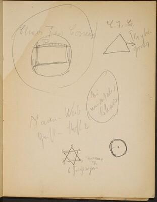 Geometrische Formen mit Notizen (Geometric Shapes with Notations) [p. 15]