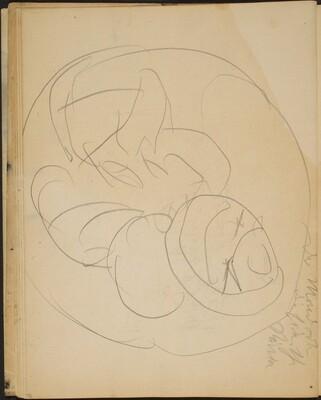 Skizze mit Bezeichnung (Sketch with Notation) [p. 32]