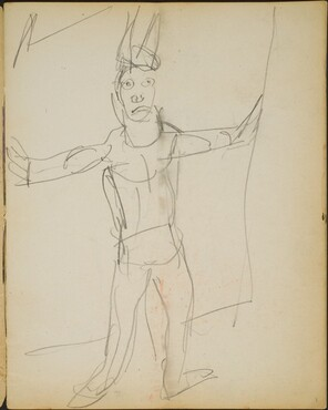 Zirkusartist (Male Performer) [p. 1]