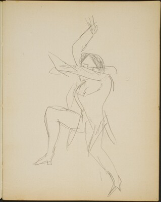 Tänzerin (Female Dancer) [p. 3]