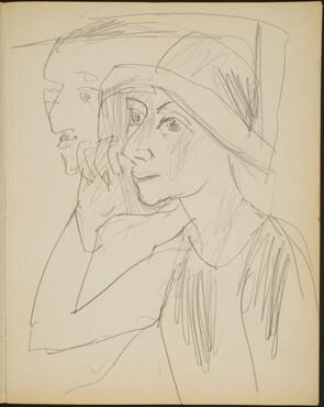 Paar unter den Zuschauern (A Couple in the Audience) [p. 9]