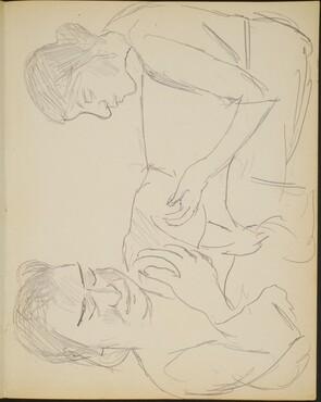 zwei Frauen (Two Views of a Woman) [p. 15]