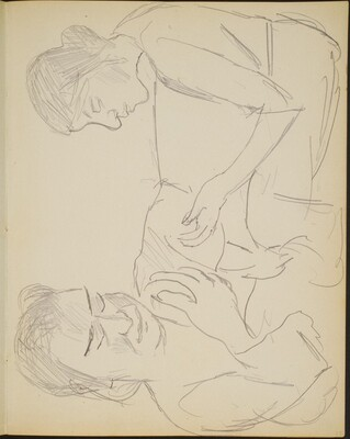 zwei Frauen (Two Views of a Woman) [p. 15]