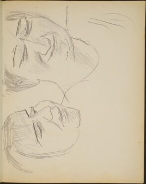 zwei weibliche Portraits (Two Portraits of a Woman )[p. 17]
