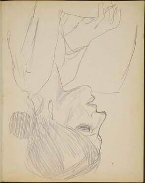 weibliche Bildnisstudie (Woman in Profile) [p. 19]