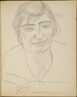 lächelnde Frau (A Woman Smiling) [p. 21]