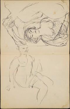 Flüchtige Aktstudien (Sketches of Three Women) [pp. 26-27]