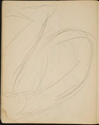 Flüchtige Studie eines hockenden Aktes (Sketch of a Seated Nude)[p. 28]