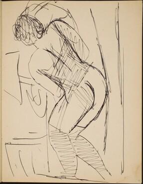 Liegende Frau in Wäsche (Partial Nude) [p. 29]