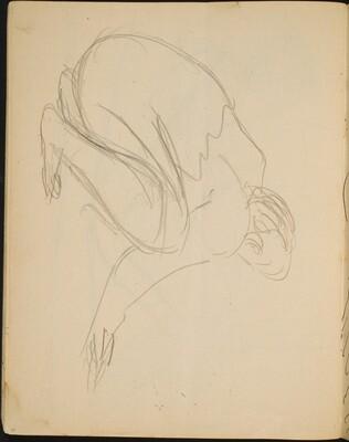 Frau in der Hocke (Kneeling Woman) [p. 30]