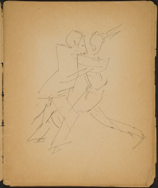 Tanzendes Paar (Dancing Couple) [p. 3]