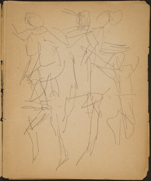 Studien von Tanzenden (Studies of Dancers) [p. 7]