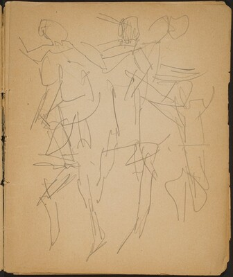 Studien von Tanzenden (Studies of Dancers) [p. 7]