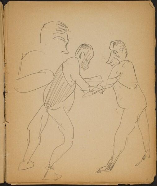 Ringkämpfer (Wrestlers) [p. 13]
