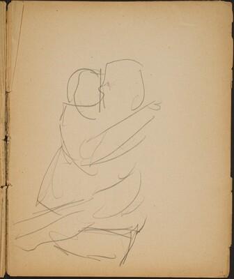 Zwei ineinander verschlungene Figuren (Two Figures Locked) [p. 19]