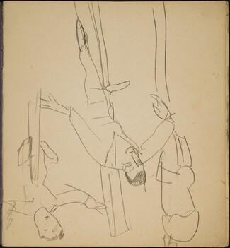 Balancierende Artiste (Tightrope Walker) [p. 1]