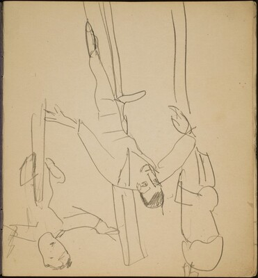 Balancierende Artiste (Tightrope Walker) [p. 1]