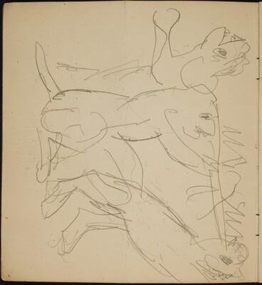 Zirkusnummer mit Raubkatzen (Circus Act with Cats of Prey) [p. 2]