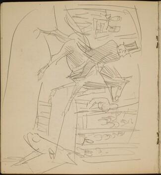 Zirkusnummer mit Kunstreiter (Circus Act with Horse Master) [p. 6]